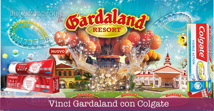 Vinci Gardaland con Colgate: soggiorno da 1.300€!