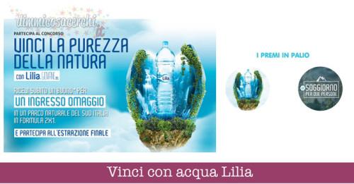 Vinci con acqua Lilia