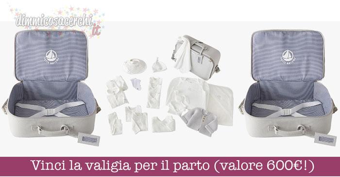 Vinci la valigia per il parto (valore 700€!)
