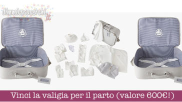Vinci la valigia per il parto