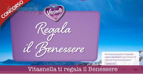 concorso Vitasnella ti regala il Benessere: vinci 10 cofanetti Smartbox!