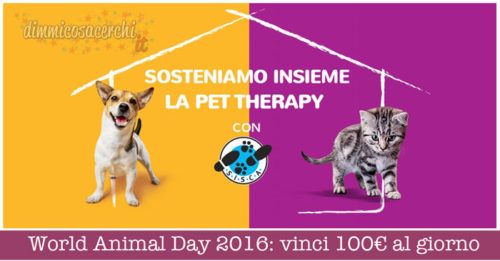 World Animal Day 2016