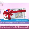5€ di buono sconto Lillapois ad Agosto: ecco come riceverlo