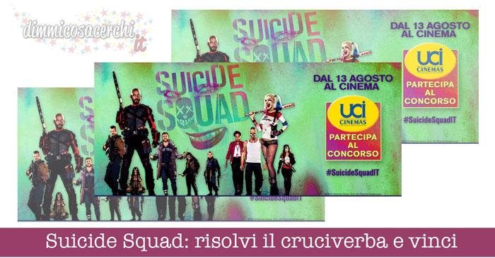 Suicide Squad: risolvi il cruciverba e vinci