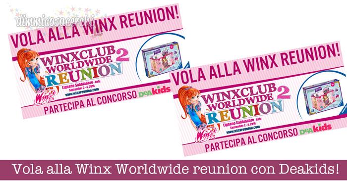 Vola alla Winx Worldwide reunion con Deakids!