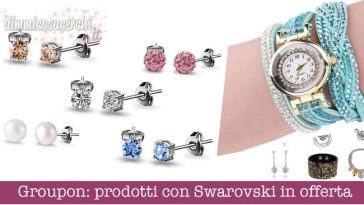 prodotti con Swarovski in offerta
