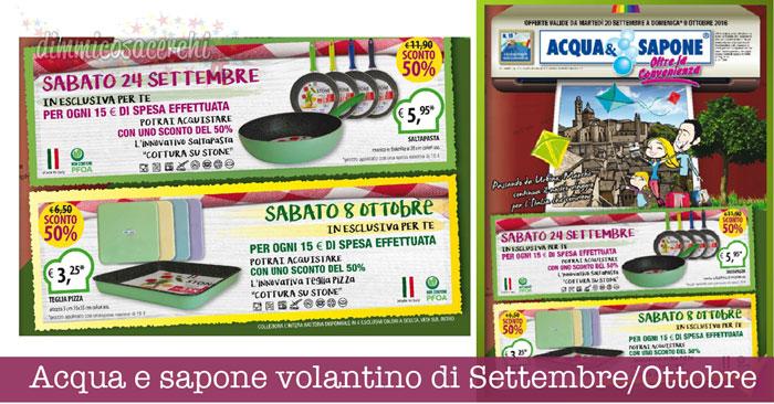 Offerte volantino acqua e sapone sassari - Italian Guide