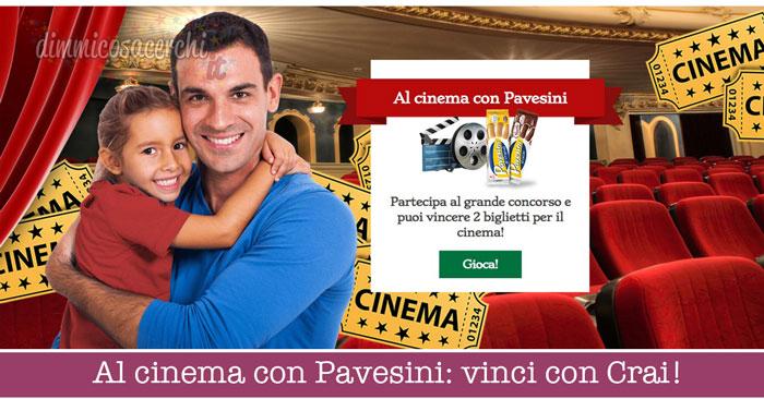 Al cinema con Pavesini