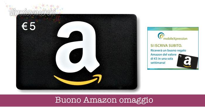 Buono Amazon omaggio