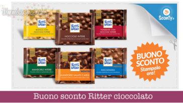 Buono sconto Ritter Cioccolato da stampare gratis