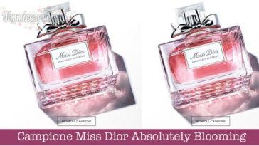 Miss Dior Absolutely Blooming, richiedi il campione di profumo
