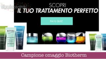 Campione omaggio Biotherm
