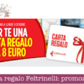 Carta regalo Feltrinelli omaggio