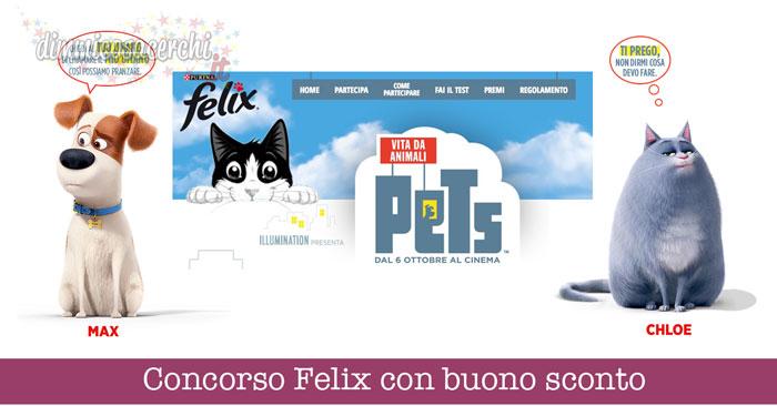 Concorso Felix vita da animali