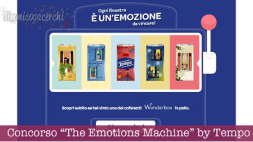 "Concorso ""The Emotions Machine"