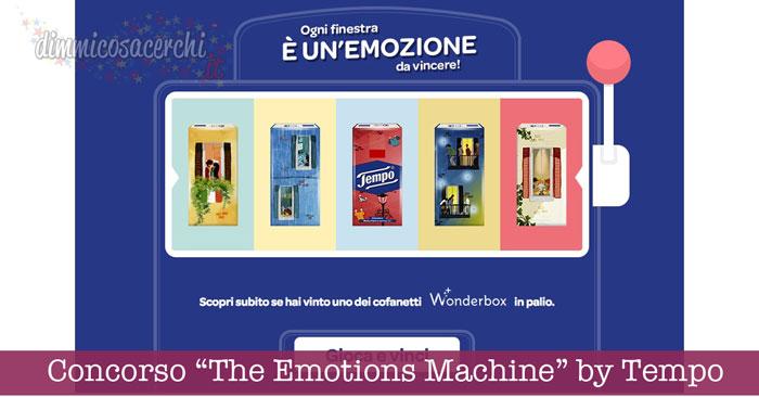 "Concorso ""The Emotions Machine"