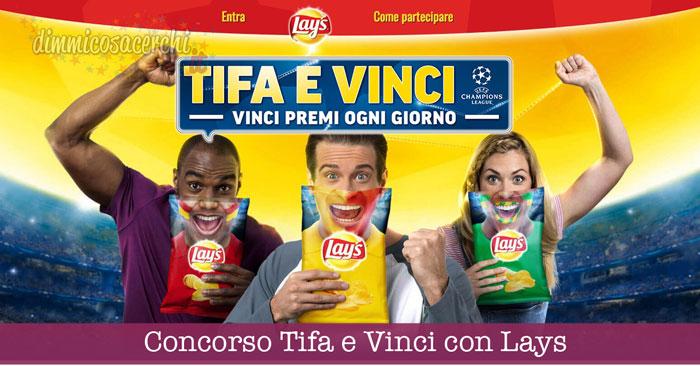Concorso Tifa e Vinci con Lays