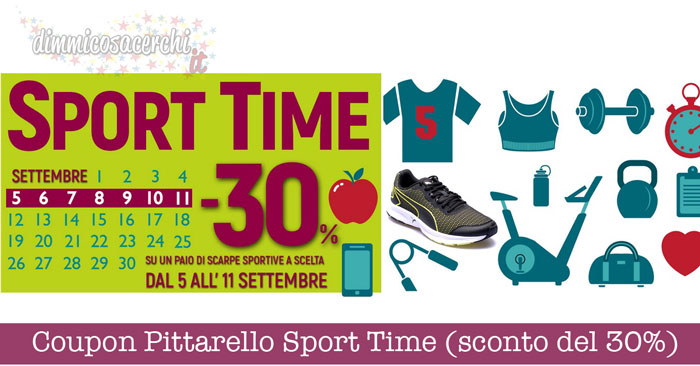 Coupon Pittarello Sport Time