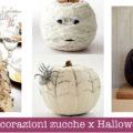 Decorazioni zucche x Halloween