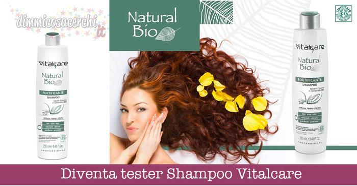 Diventa tester Shampoo Vitalcare