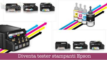 Diventa tester stampanti Epson