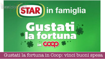 Gustati la fortuna in Coop