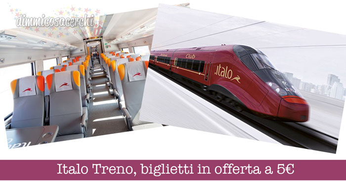 Italo Treno, biglietti in offerta