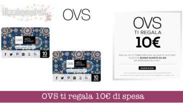 Buono sconto OVS 10€: ecco come riceverlo