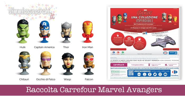 Raccolta Carrefour Marvel Avangers