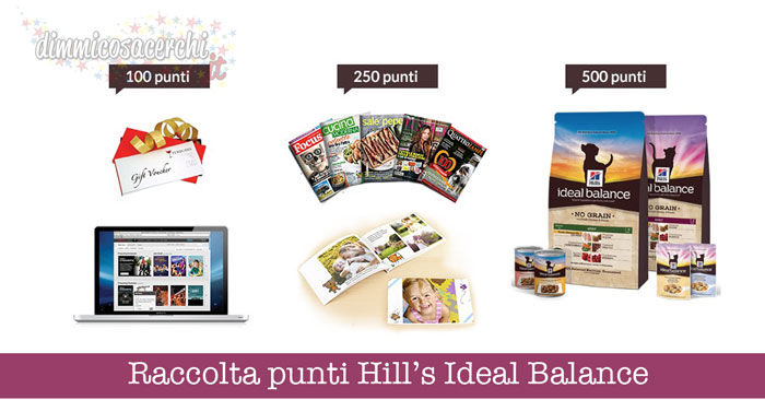 Raccolta punti Hill's Ideal Balance