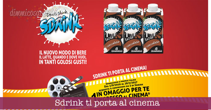 Sdrink ti porta al cinema