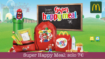 McDonald's Super Happy Meal