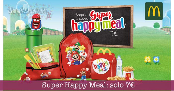 McDonald's Super Happy Meal