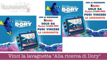 """Vinci la lavagnetta """"Alla ricerca di Dory"""""""