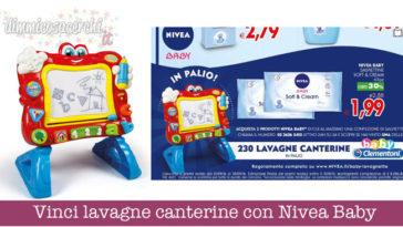 Vinci lavagne canterine con Nivea Baby