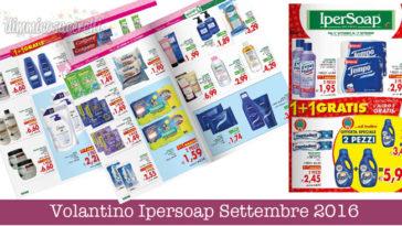 Volantino Ipersoap Settembre 2016