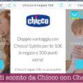 10 euro di sconto da Chicco con Check Bonus