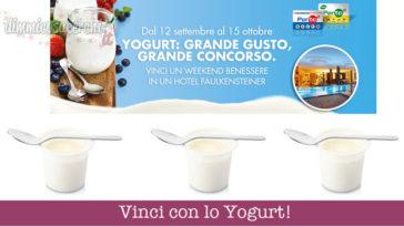 concorso yogurt