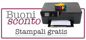 buoni sconto da stampare