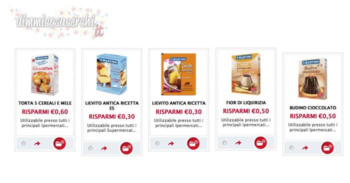 Buoni sconto San Martino per dolci (nuovamente attivi!)