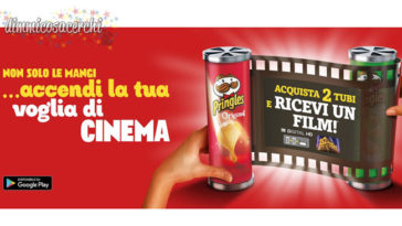 Le Pringles ti regalano un film