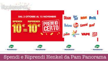 Spendi e Riprendi Henkel da Pam Panorama
