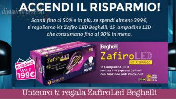 Unieuro ti regala ZafiroLed Beghelli