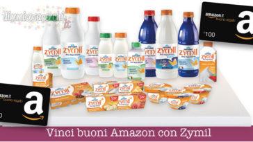 Vinci buoni Amazon con Zymil