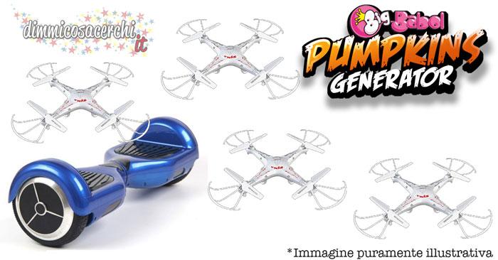 concorso big babol vinci droni