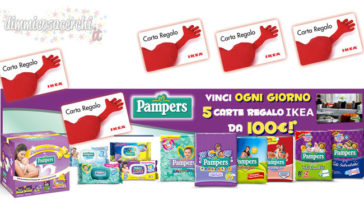 concorso pampers ikea