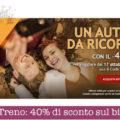 Italo Treno: 40% di sconto sul biglietto