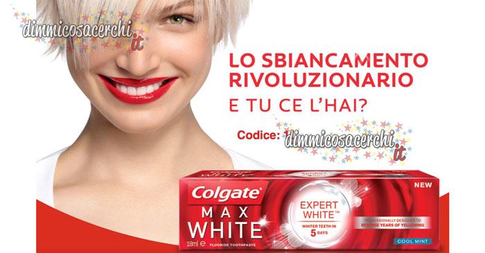 Campione omaggio Colgate Expert White