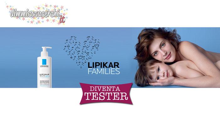 Diventa tester Lipikar Families
