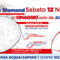 Omaggio Acqua&Sapone: vassoio Diamond Bormioli
